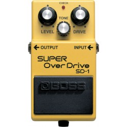 BOSS SD-1 Super Overdrive...