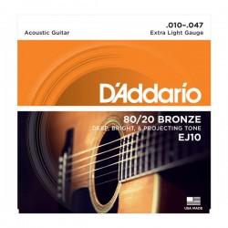 D'Addario EJ10 Acoustic...