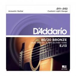 D'Addario EJ13 Folk Guitar...