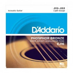 D'Addario EJ16 Acoustic...