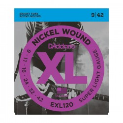 D'Addario EXL120 Electric...