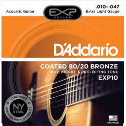 D'Addario EXP10 Coated...