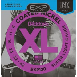 D'Addario EXP120 Coated...