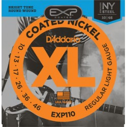 D'Addario EXP110 Coated...