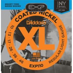 D'Addario EXP110 Coated...