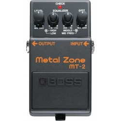 BOSS MT-2 Metal Zone Guitar...